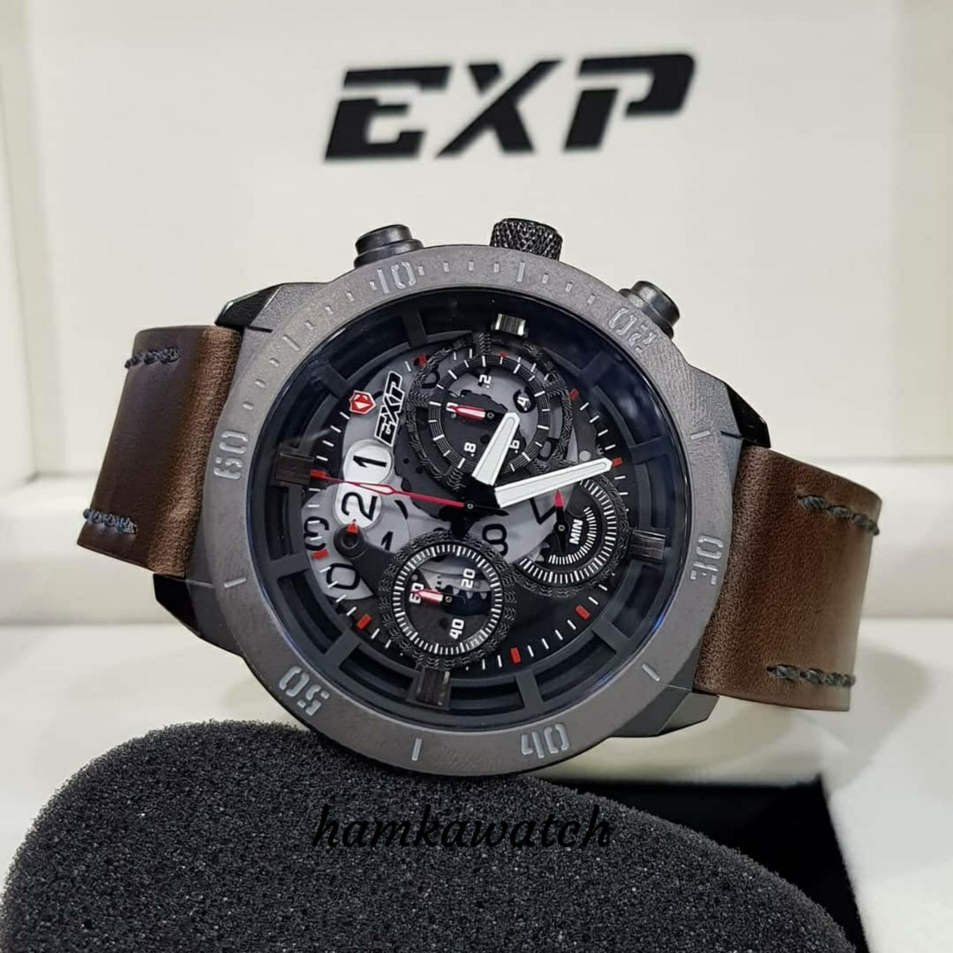 Buy Sell Cheapest Expedition Exp 6680 Best Quality Product Deals Jam Tangan Pria 6381 Mcbtbba Silver Hitam Original Exp3006 Black Leather Brown