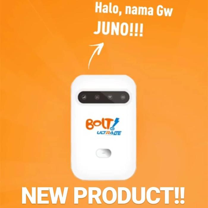 Mifi Router Modem Wifi 4G Bolt Smartfren Telkomsel 2300MHz UNLOCK