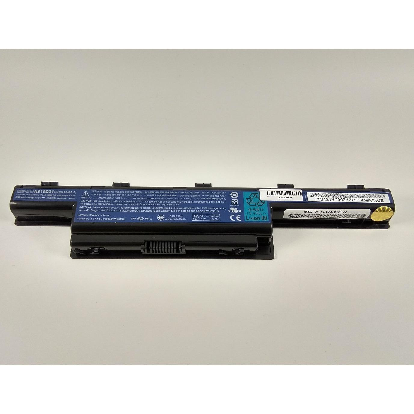 Acer Baterai Original Aspire 4551g 4741 4741g 4741zg 4771g 5740g Battery 4349g 4750 4738z 4738 4739g 4739 E1 471 5750 As10d51 As10d53 As10d31 As10d3e As10d41 As10d61 As10d71 As10d81 As10d75 Ori Laptop 5741g E 1431