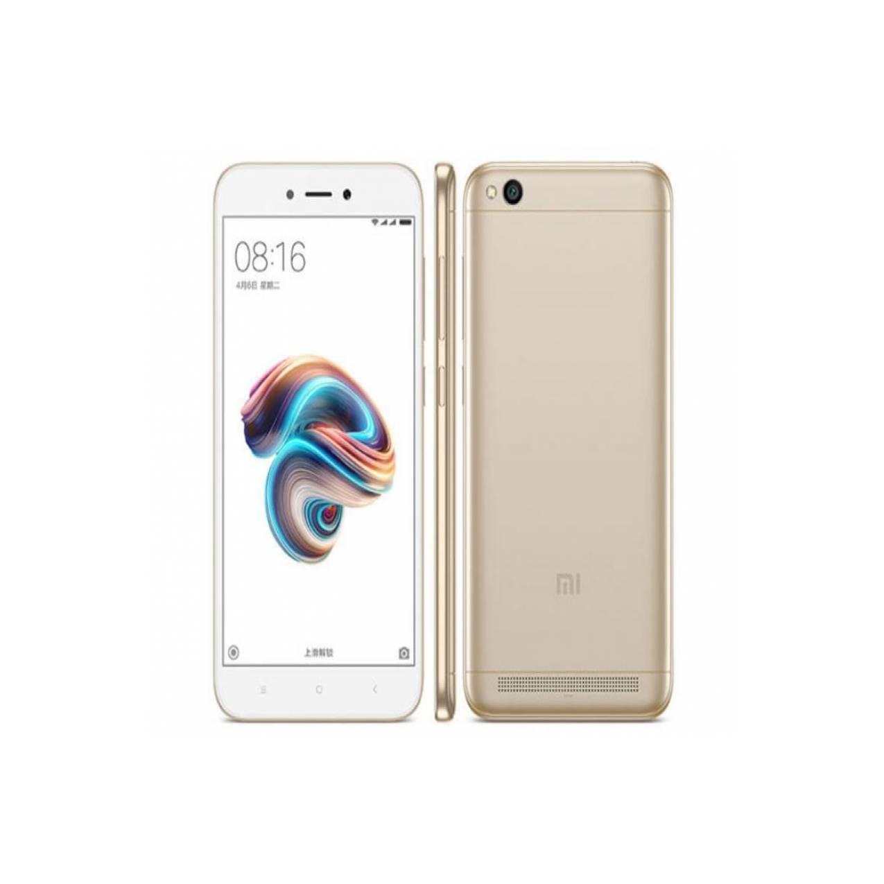 Xiaomi Redmi 5A 2/16GB Warna GOLD Baru NEW Garansi Resmi TAM Murah - Emas  - 90574e65282a44ac17cf2a882cff772d - Update Harga Terbaru Hp Baru Xiaomi Redmi 5 Agustus 2018