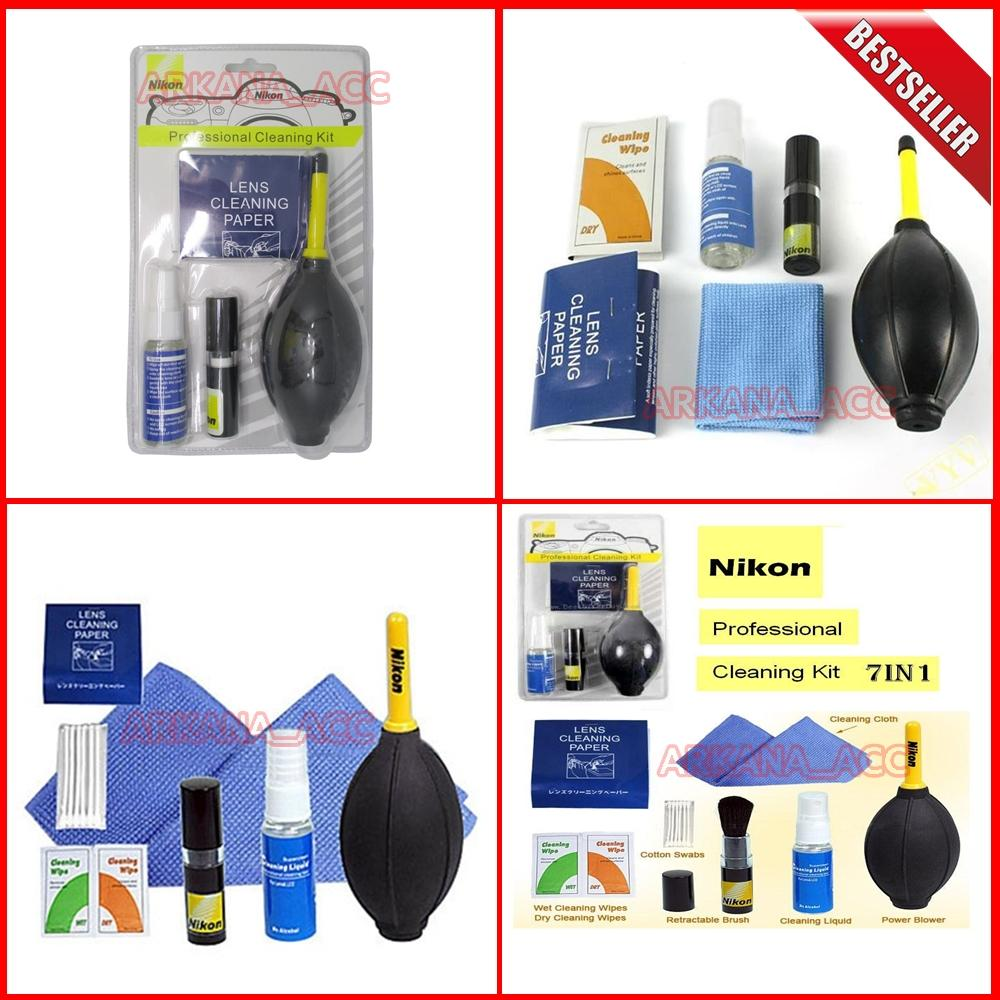 Nikon Optical Cleaning Kit / Cleaning Kit Camera Nikon / Pembersih Lensa Camera Nikon [ arkana_acc ]