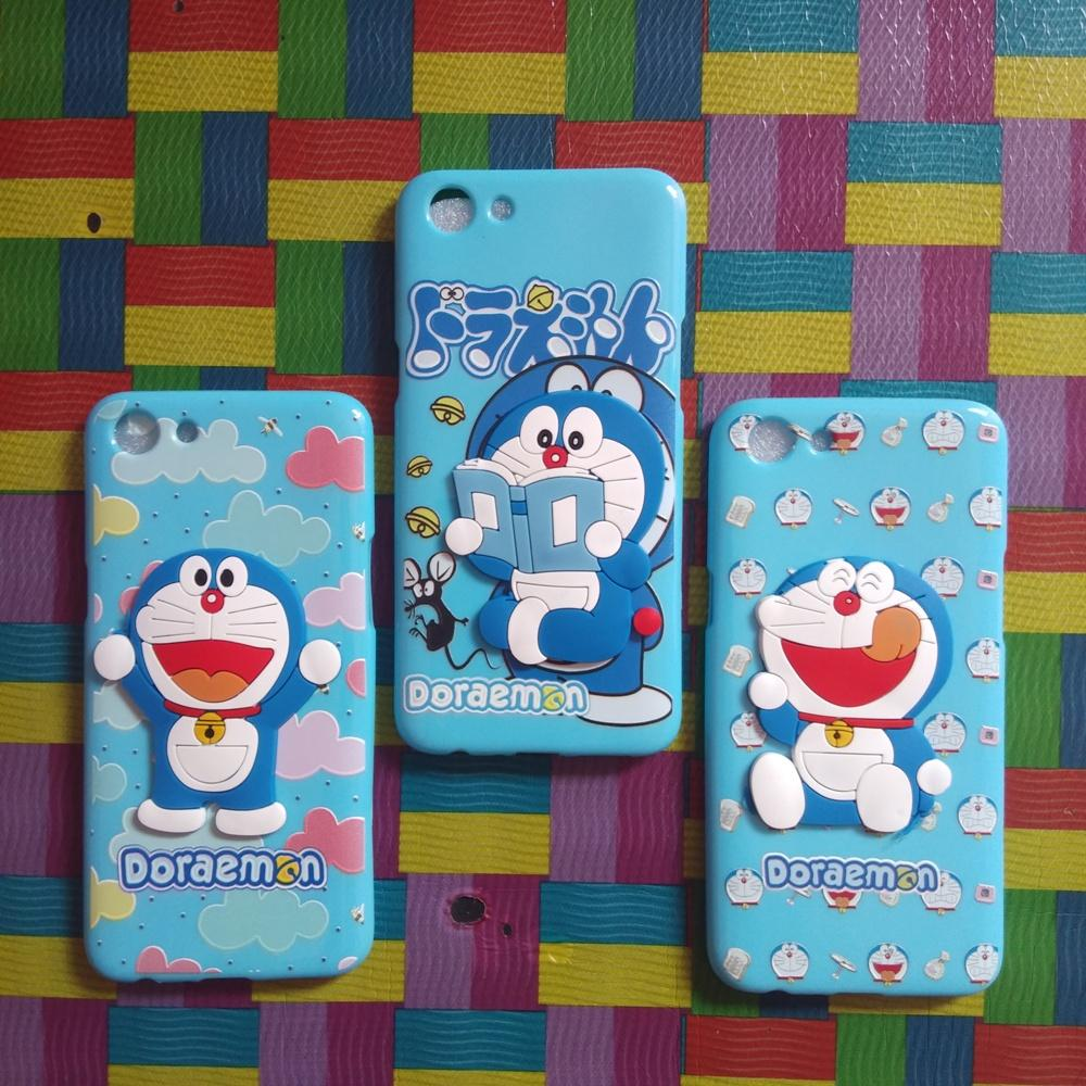 Softcase Karakter Doraemon 3D Lucu Tipe Handphone Vivo/Oppo Terlengkap,Terbaru Dan Termurah