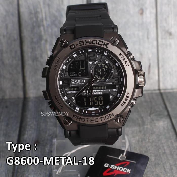 Jam Pala Besi Gun Metal Full Black Hitam G-8600JAM   TANGAN GAUL   JAM  TANGAN PRIA   JAM TANGAN MURAH   JAM TANGAN DISKON   JAM TANGAN TRENDY ... c251d3d94f