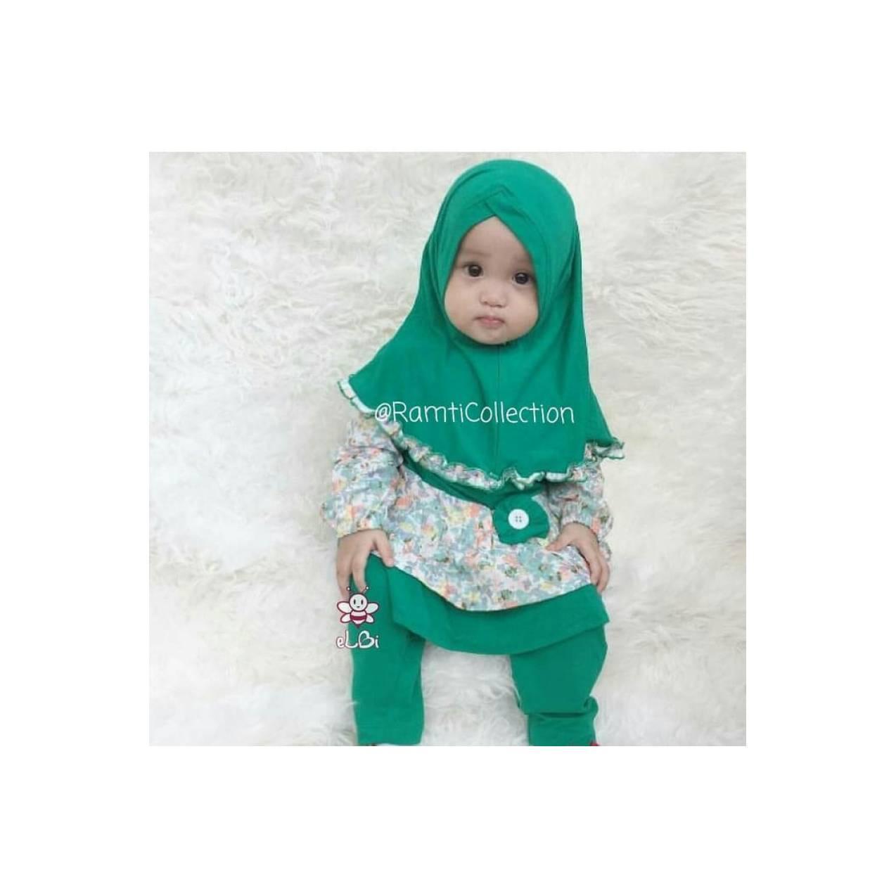 gamis anak 1 tahun I jual grosir baju anak I baju muslim bayi I Dania