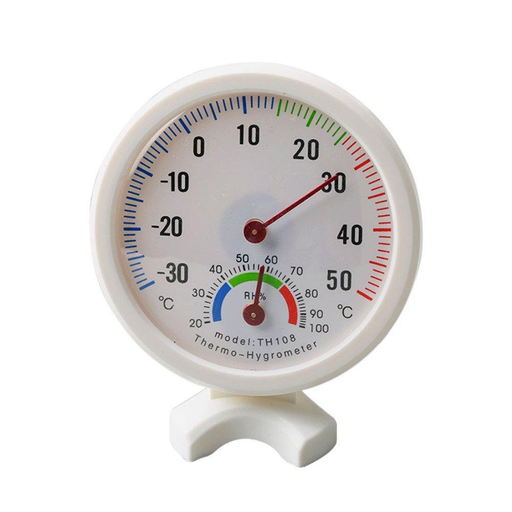 Rajawali Analog Hygrometer & Thermometer TH108 - For Drybox dll