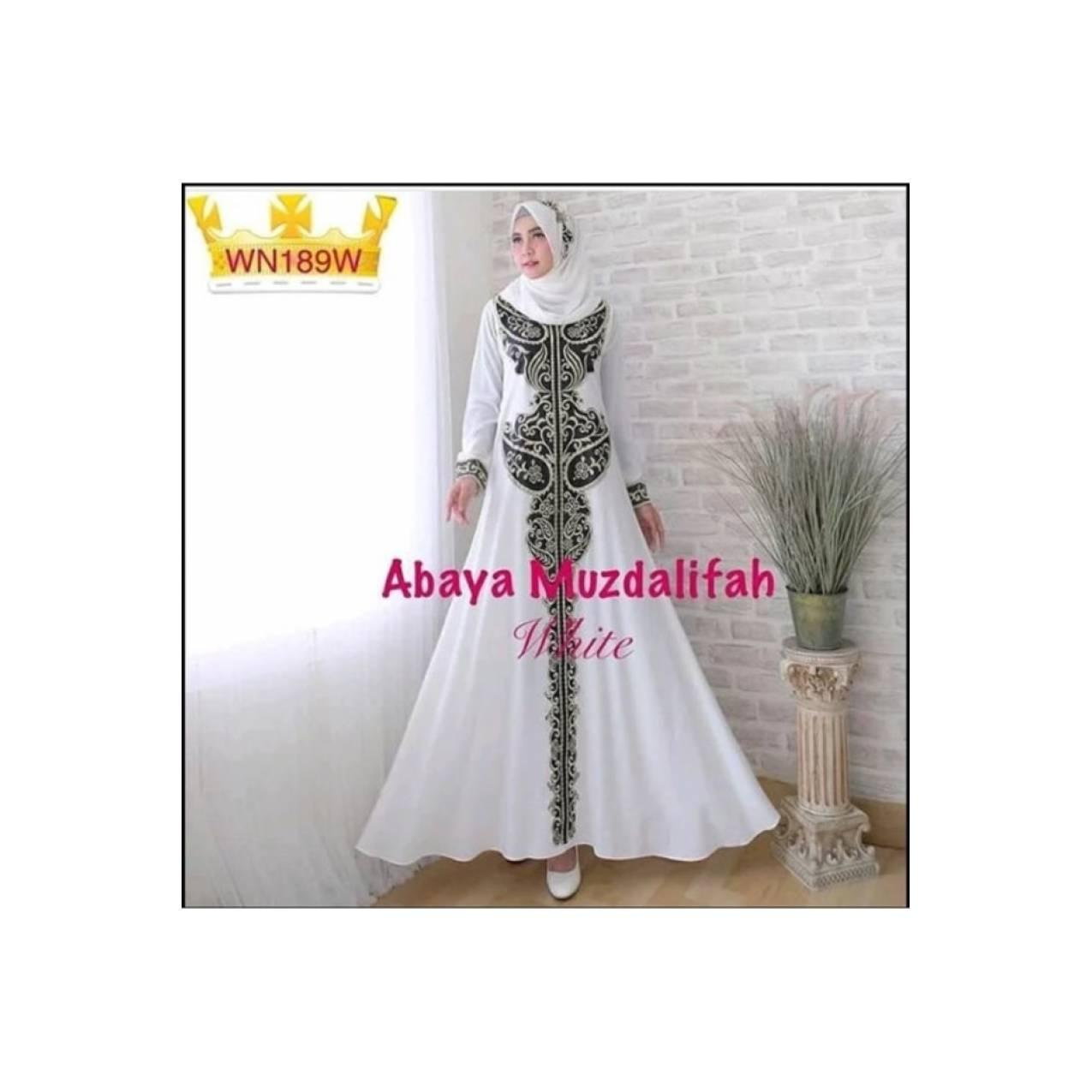 Gamis dress busana muslim abaya india arab saudi dubai turkey longdres