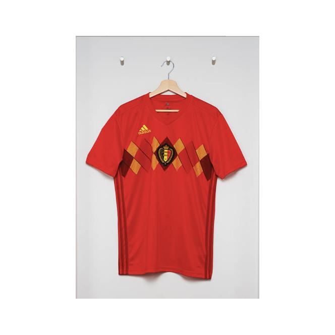 Belgia Home Piala Dunia Jersey Bola - Belgia Home, S By Murah Rahayu 84.