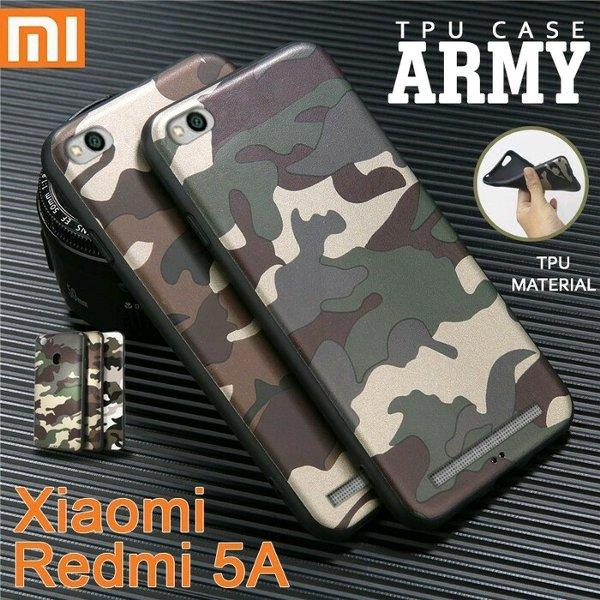 Softcase case Army Loreng for Xiaomi Redmi 5A
