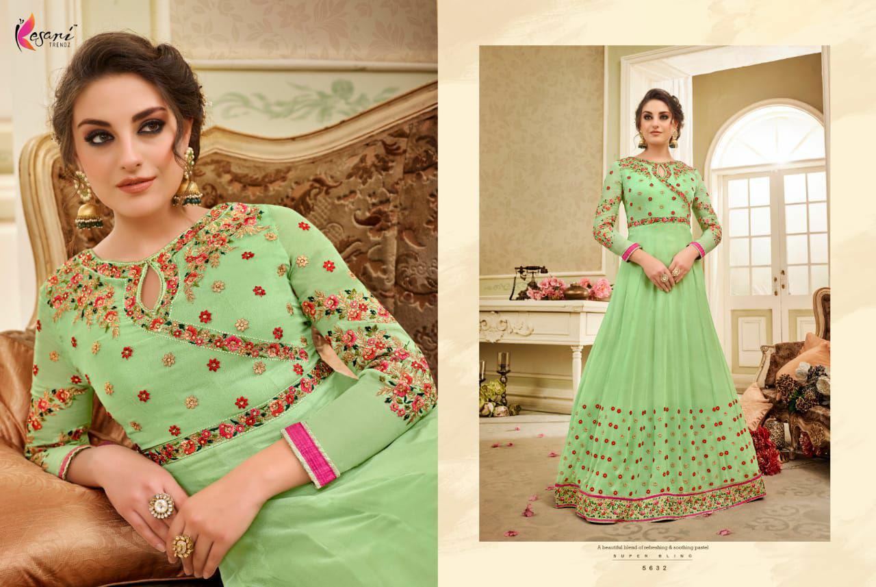 Kaia 8 Anarkali 3/Maxi Dress Gamis Pesta India/Gaun Pengantin Import