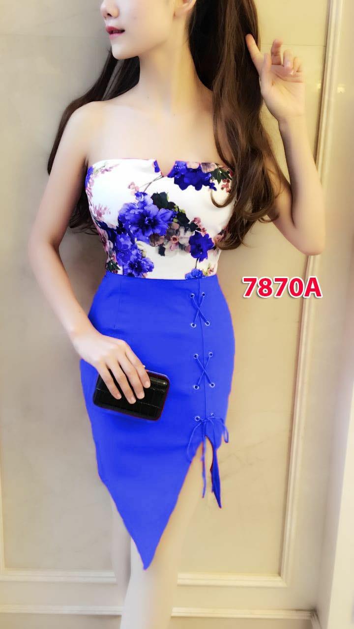 7870a# dress kenben import / gaun pesta / dress fashion