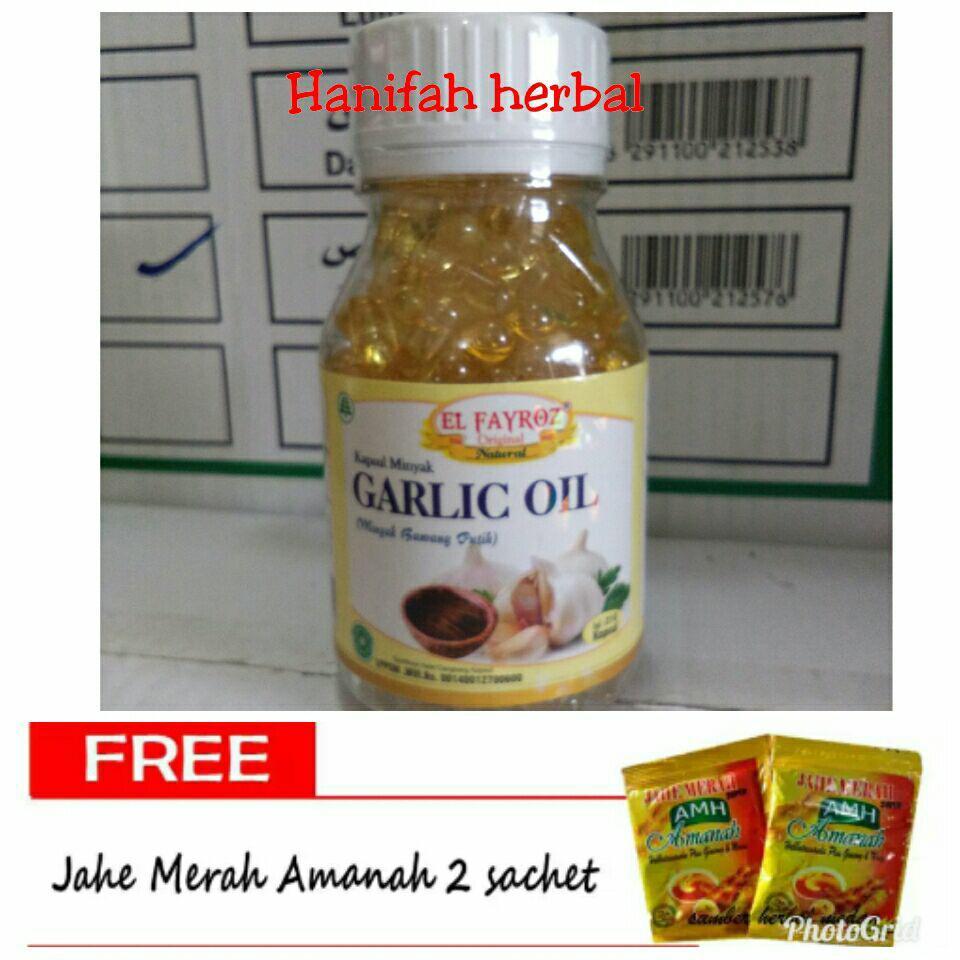 Garlic Oil 100 % - Minyak Bawang Putih - 210 kapsul