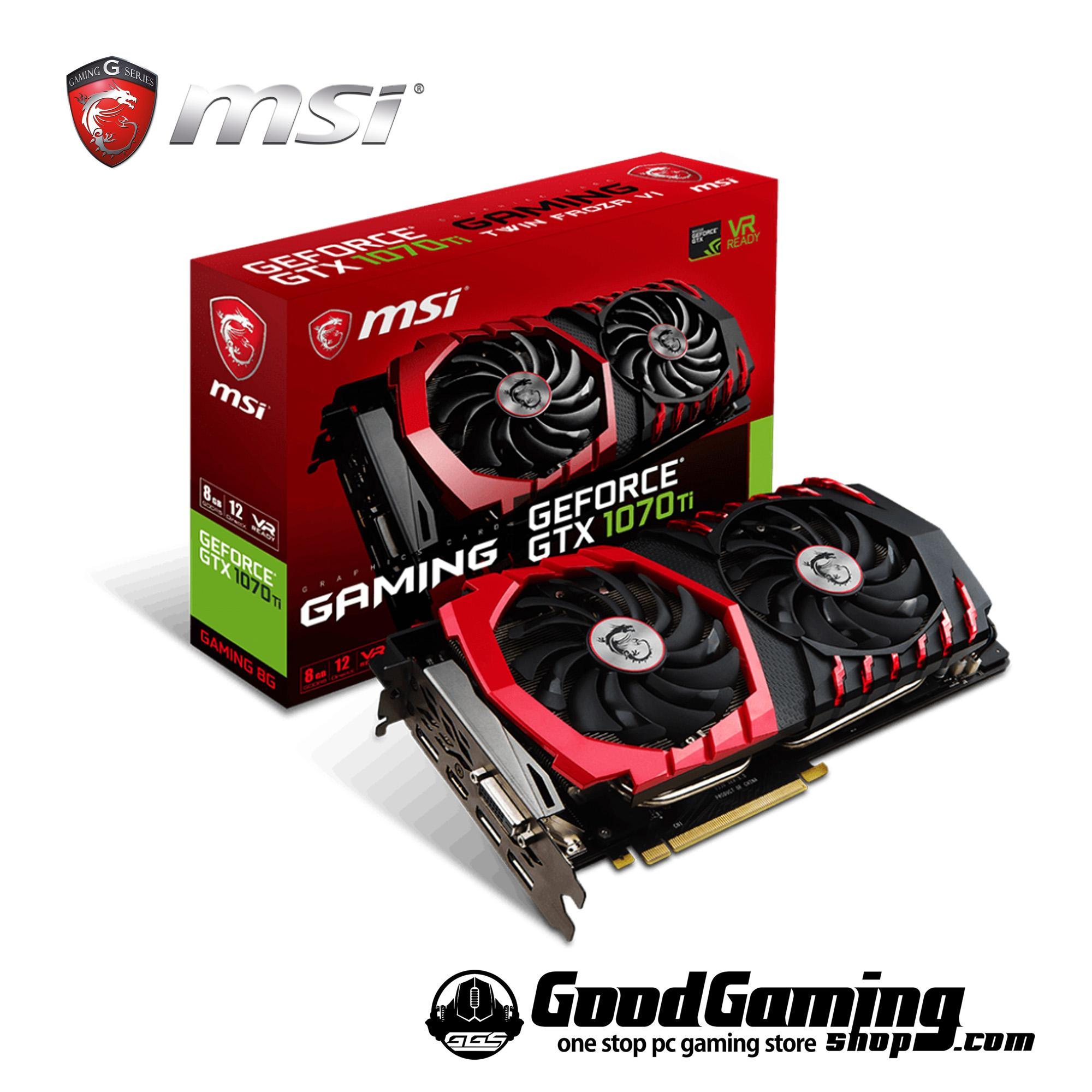 MSI GeForce GTX1070 Ti Gaming 8G