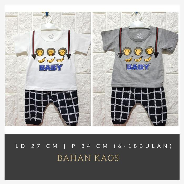 Baju Bayi Balita celana joger(0-18 bulan)
