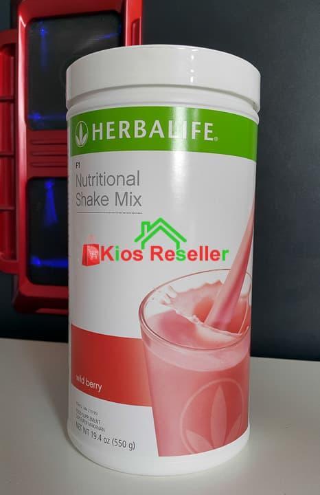 HOT PROMO!!! Nutritional Shake Mix F1 Rasa Wildberry - q8rWLK
