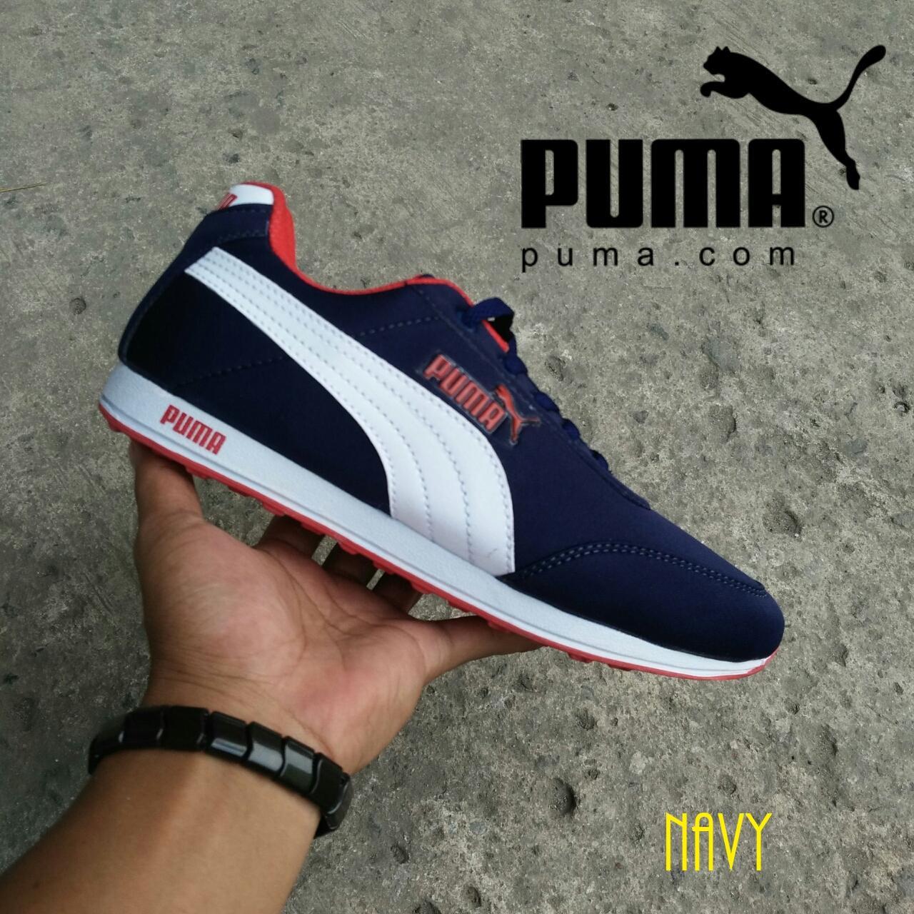 Jual Sepatu Sneakers Pria Terbaru Kets Spon Fashion Ket Cat Cats Wanita Sneaker Puma Keren Casual