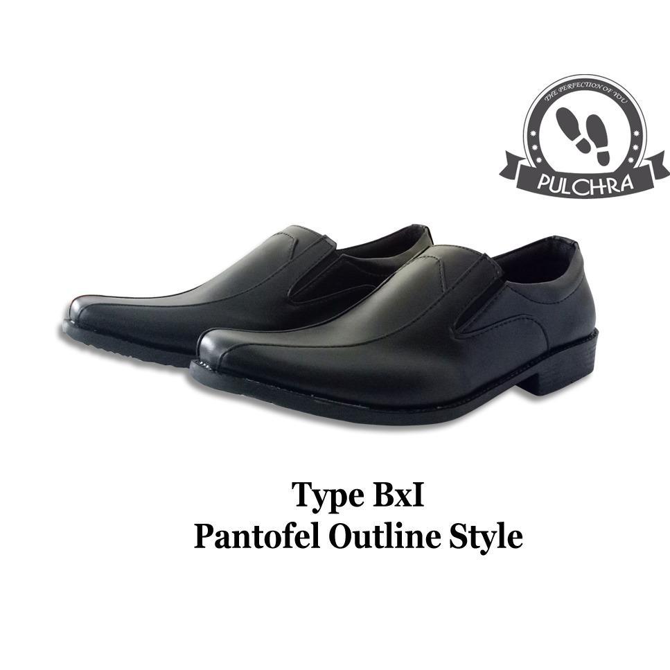 Pulchra Sepatu Pantofel Outline Style Type Bx1