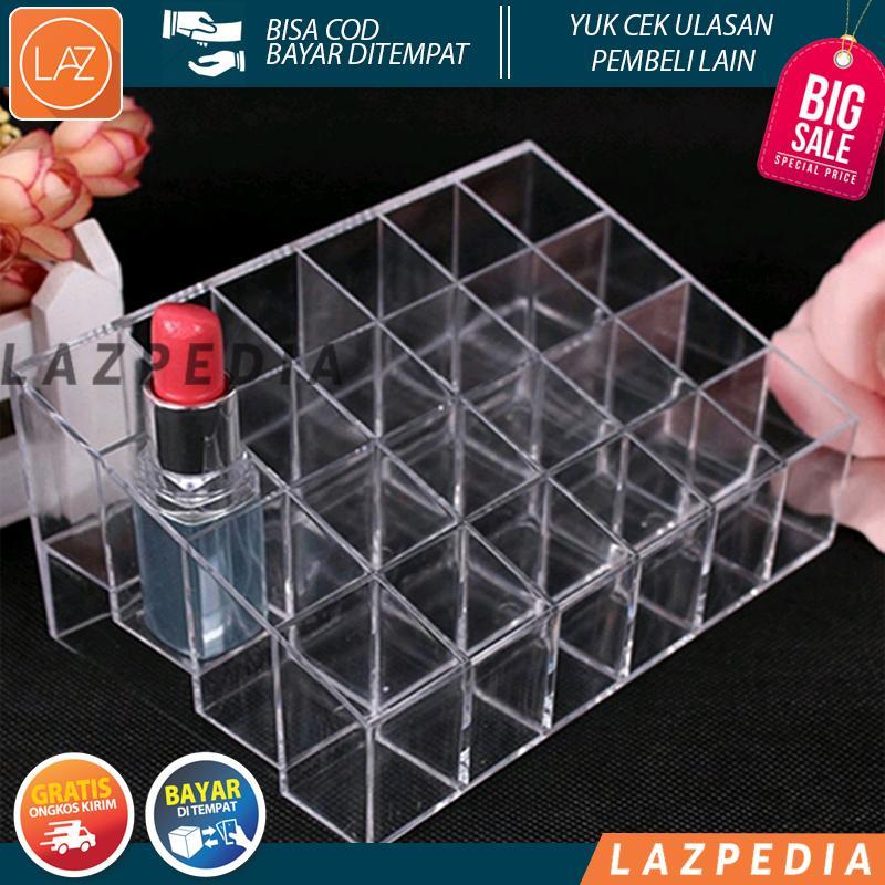 Kotak Organizer Lipstick Kosmetik Acrylic Lazpedia