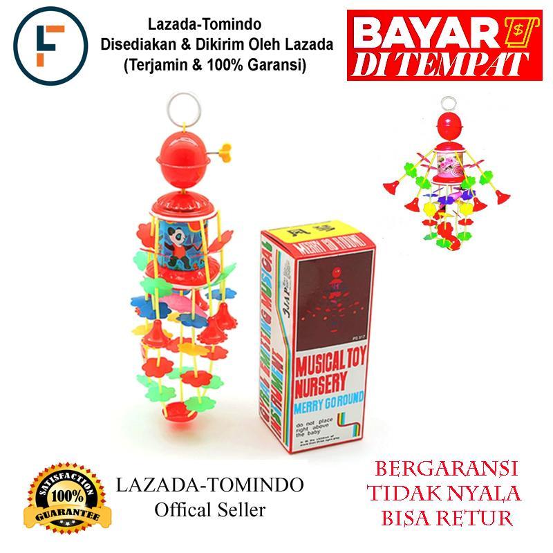 Tomindo Mainan Musik Gantung Bayi Merry Go Round - Musical Toy Nursery ( Mainan Kerincingan Bayi feb58a80a8
