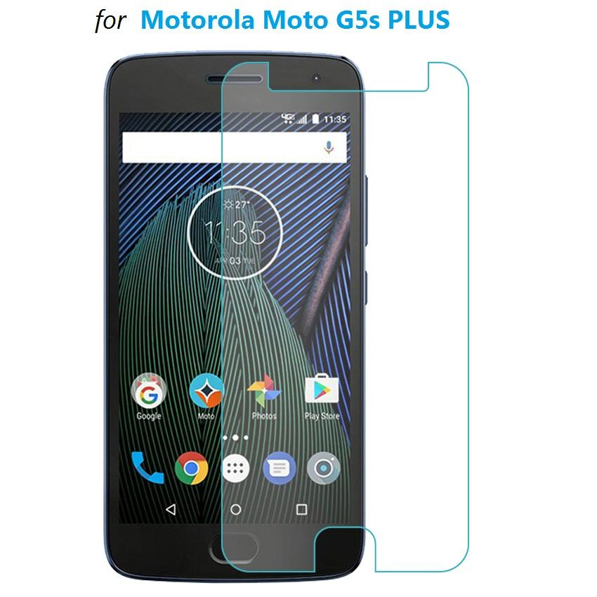 Tempered Glass Motorola Moto G5s Plus Screen Protector (Clear)