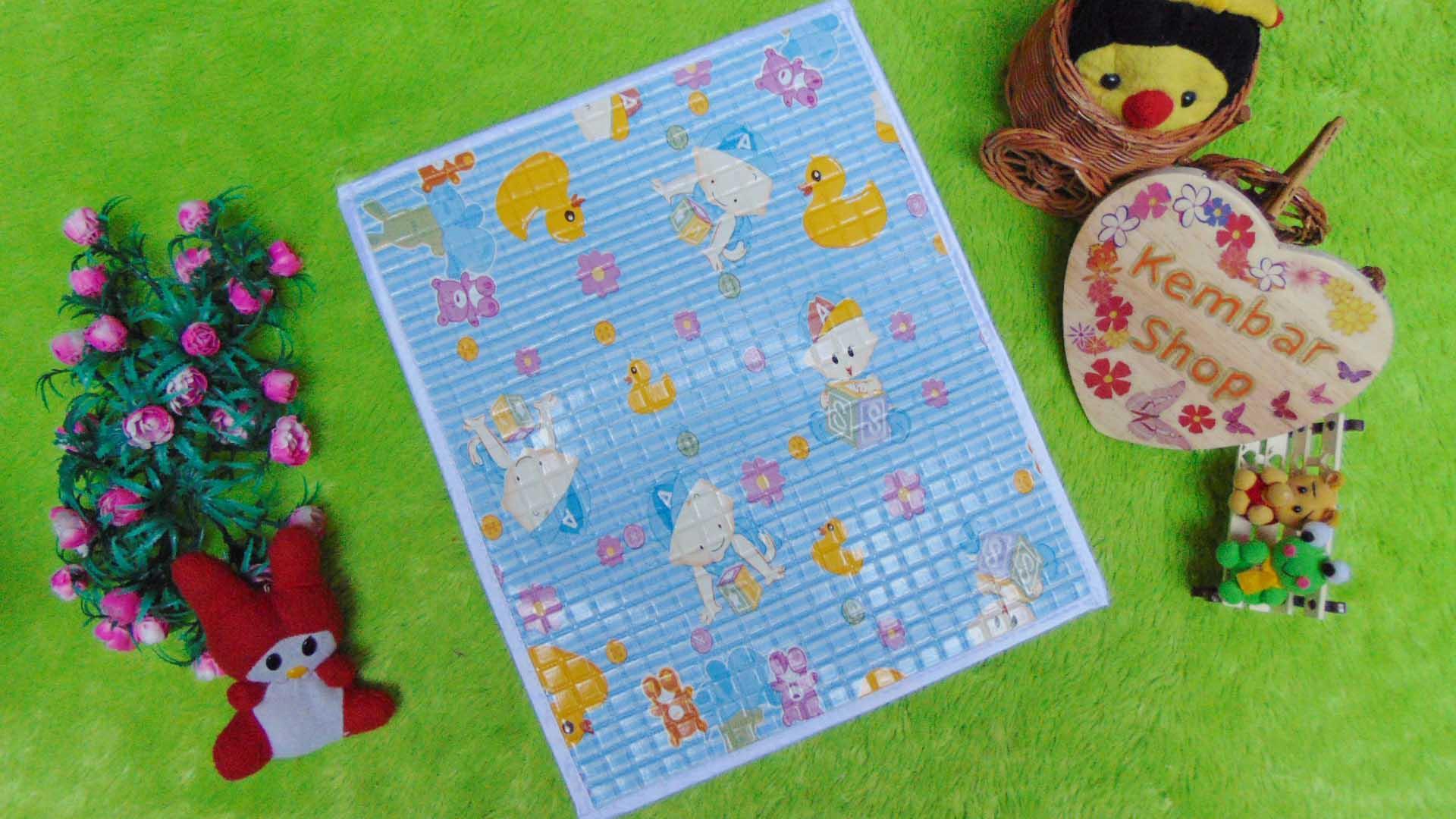 Kembarshop - Perlak Gendong Bayi Portable Alas Ompol Baby Motif Baby Aneka Warna By Kembarshop.