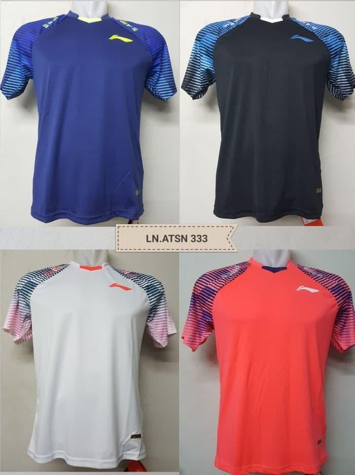 HARGA DISKON!!! Kaos / Tshirt / Baju Badminton LINING ATSN 333 - 9Sx9jL