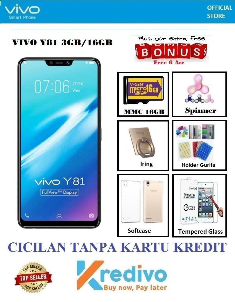 Vivo Y81 Ram 3GB/16GB - Cicilan Tanpa Kartu Kredit + Extra Bonus 6 Accc