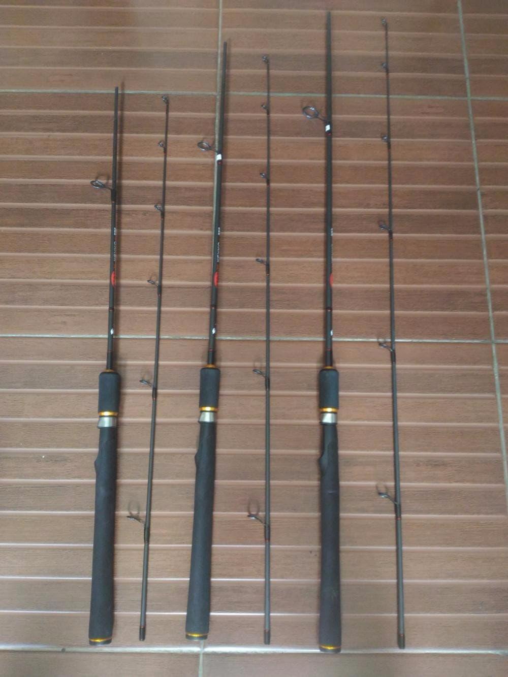 READY joran carbon 150 cm ring guide 7 pc Harga murah kwalitas bagus
