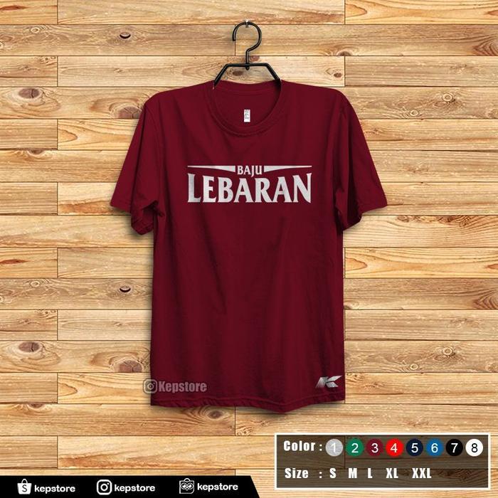 Promo Kemerdekaan!! Jual Kaos Custom - Baju Lebaran6 - ready stock