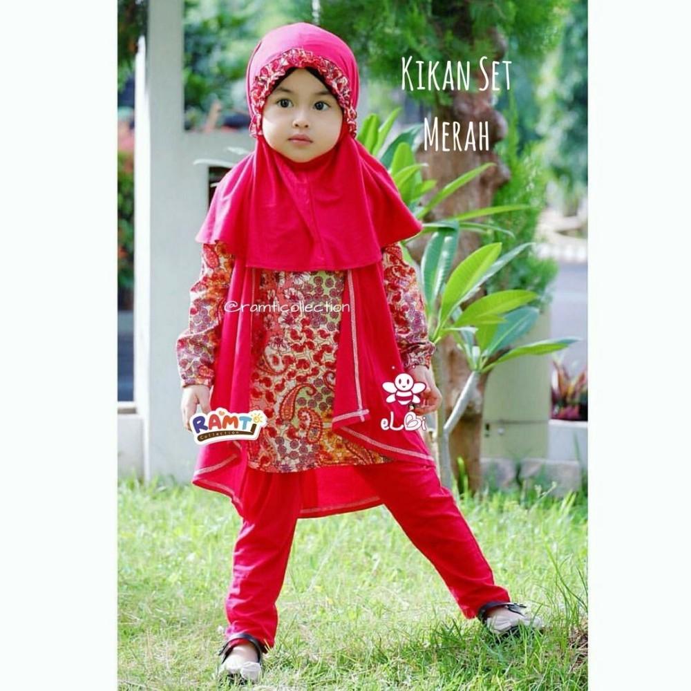 jilbab instan anak l baju murah surabaya l kikan
