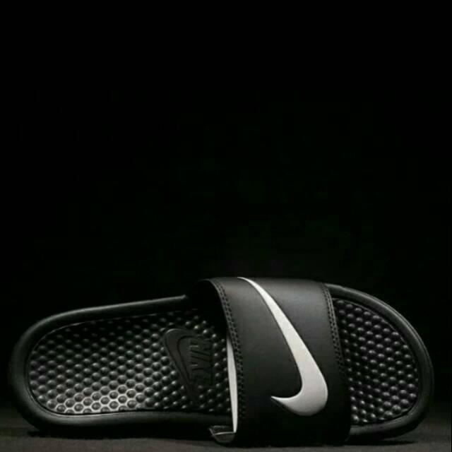 Sendal Nike Original Made In Indonesia Sandal Slop No Kasogi Kito Bata Dr.kevin