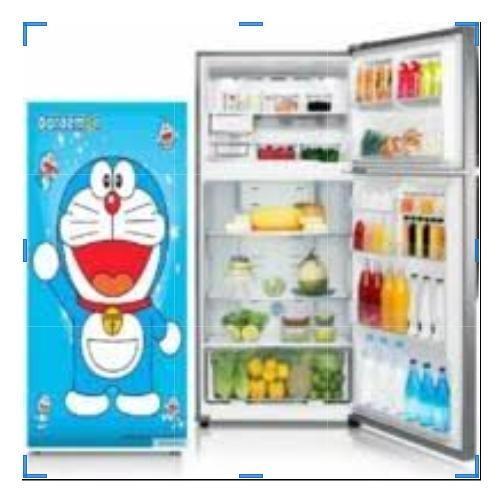 HALENA ACC-Wallpaper sticker kulkas doraemon