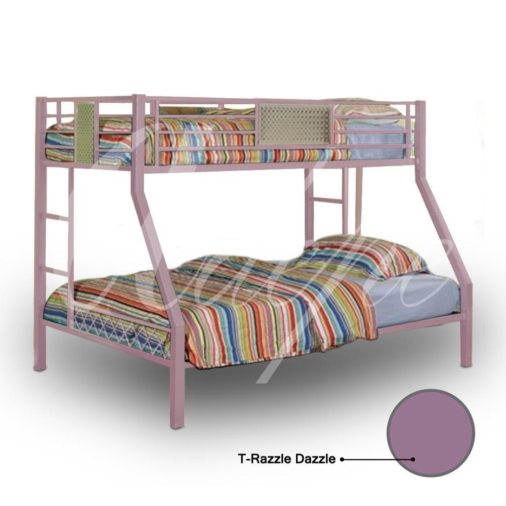 Simplefurniture Tempat Tidurranjang Susun Besi Tingkat Uk Kasur120 X Ranjang Mbb 09 Dengan Kasur Busa Tidur Rb 0123