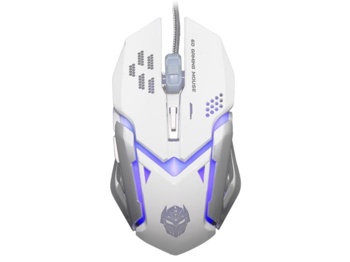 Rexus X6 Xierra Gaming Mouse gamers gamer game mous - RXM-X6 - white