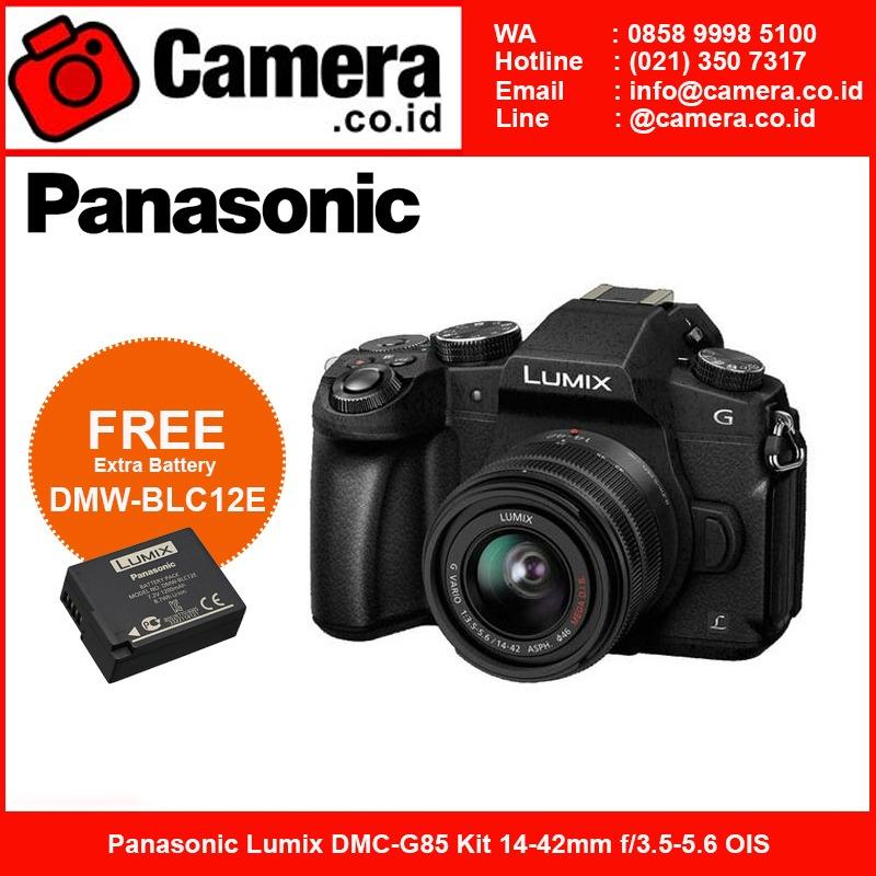 Panasonic Lumix DMC-G85 Kit 14-42mm Kamera Mirrorless - Black