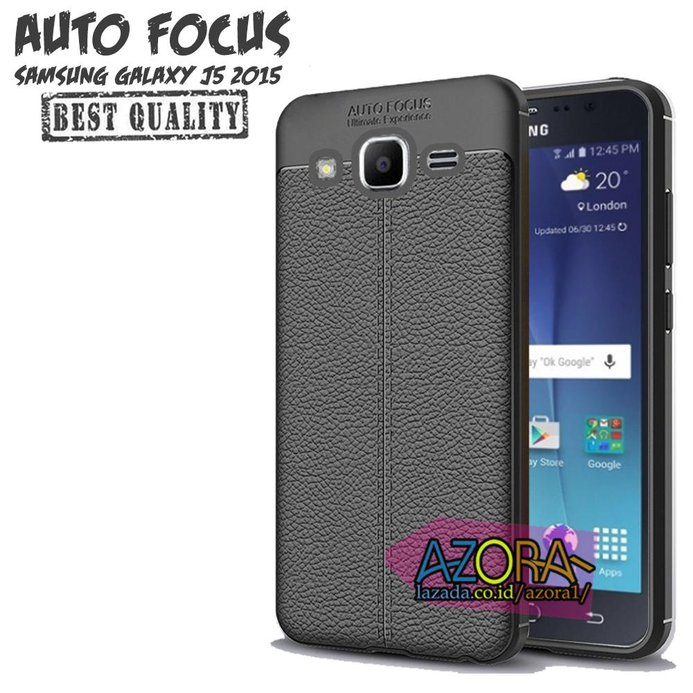 Case Auto Focus Samsung Galaxy J5 2015 J500 Leather Experience Slim Ultimate