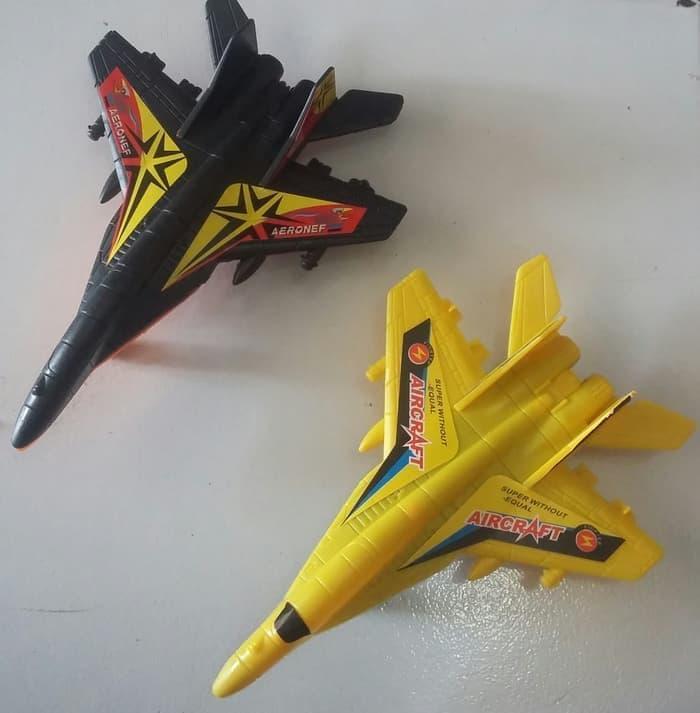 Mainan Pesawat Jet Tempur Ukuran Sedang - vgEsW5
