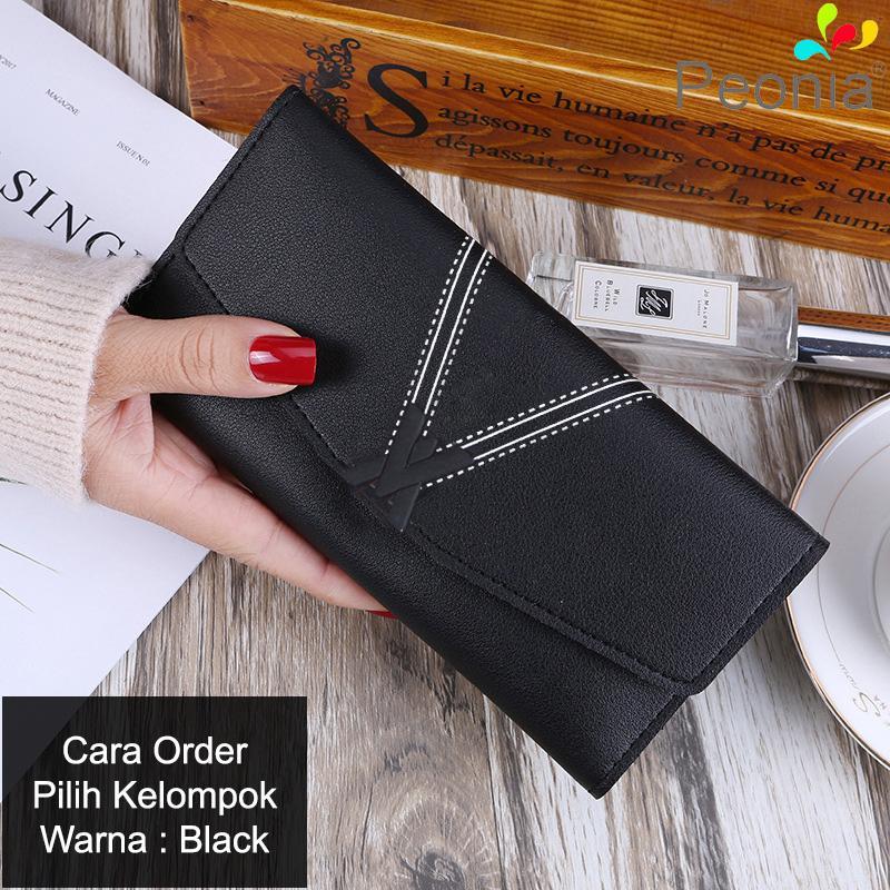 Peonia Korea Fashion Style Dompet Hp Wanita Clutch Panjang for Della Long  Series 20d5ff4723