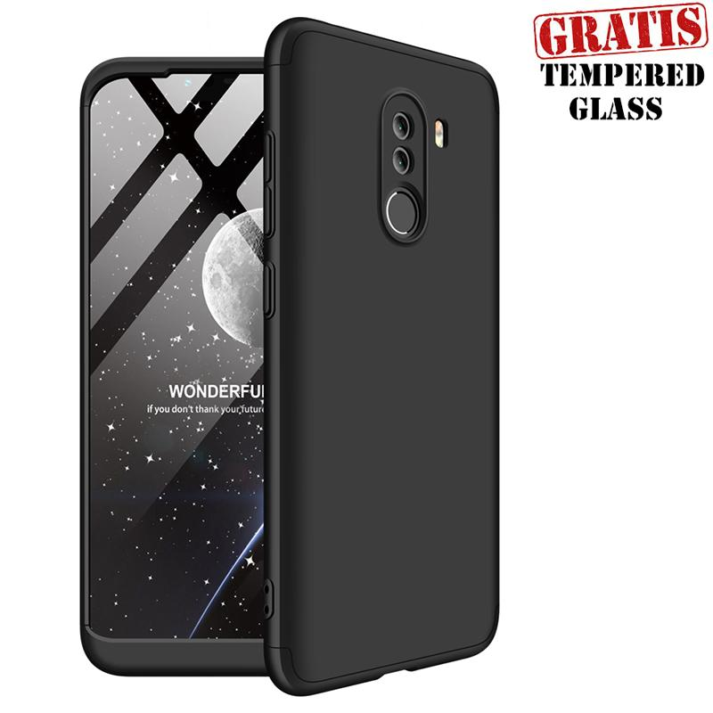 WEIKA Xiaomi Pocophone F1 Armor 360 Full Cover Baby Skin Hard Case