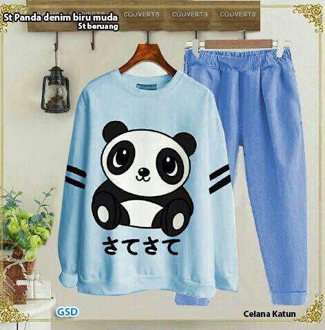 Setelan owl / celana kulot / baju wanita / celana kodok / atasan /  baju tanah abang/ baju murah / big sale / celana