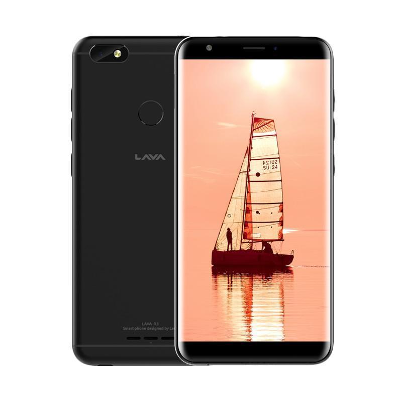 Lava R3 4G LTE Smartphone - 3/32GB - Black