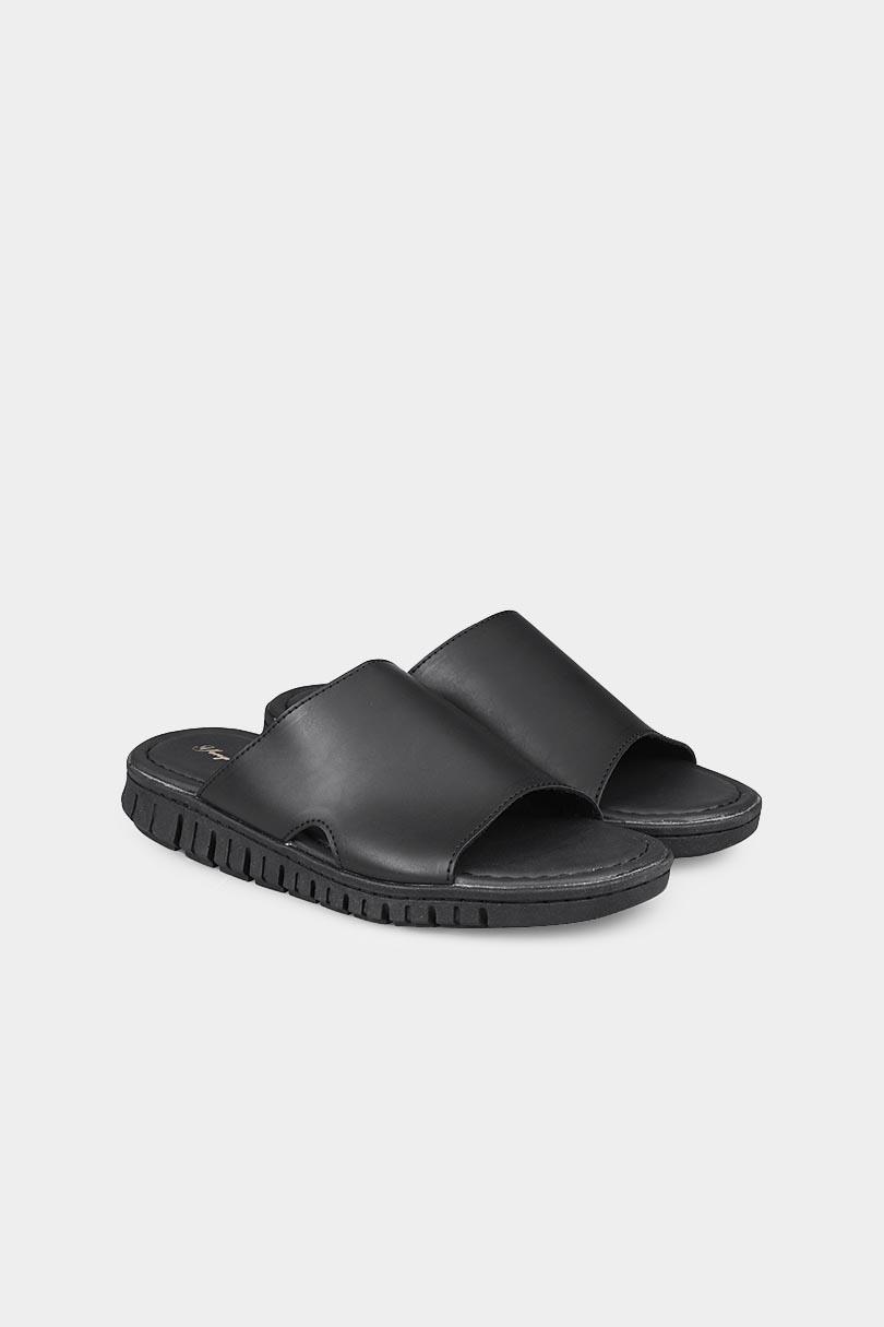 Yongki Komaladi Flip Flop & Sandal Fashion Pria 42000032-Hitam