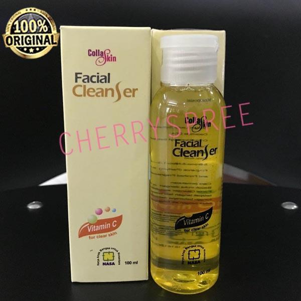 Collaskin Facial Cleanser NASA Original BPOM Sabun Cair Pembersih Wajah Sabun Muka Collagen Muka Cantik Berseri - 100ml