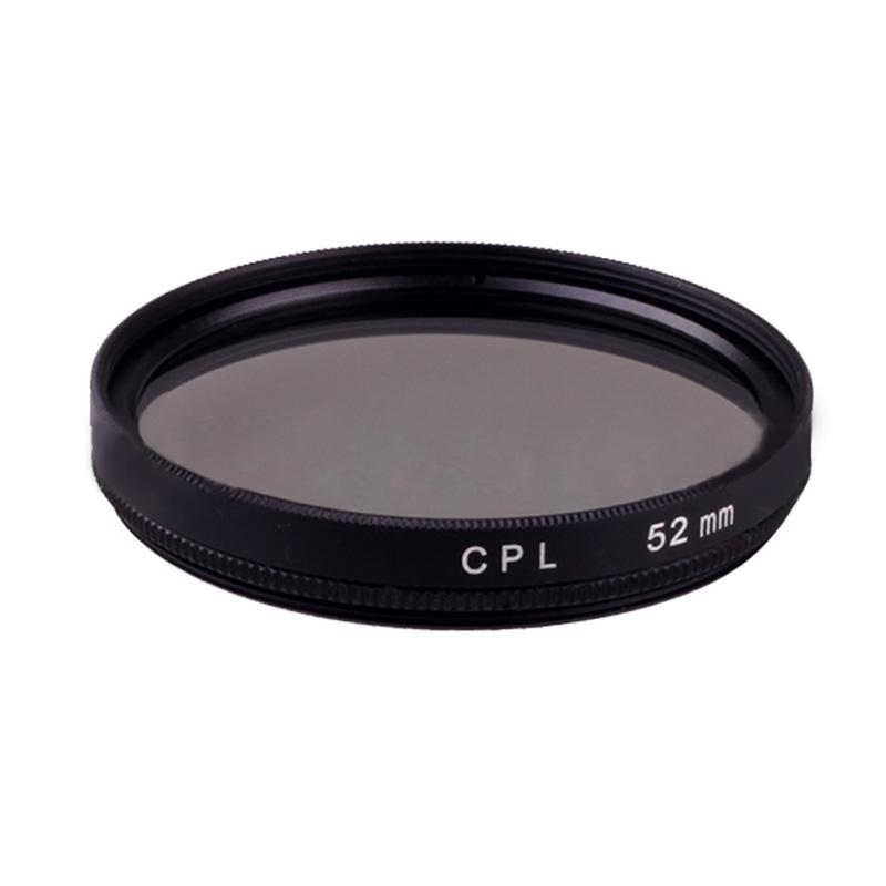 52 Mm CPL Lensa Polarisasi Penyaring untuk Canon Nikon Sony Pentax Sigma Olympus