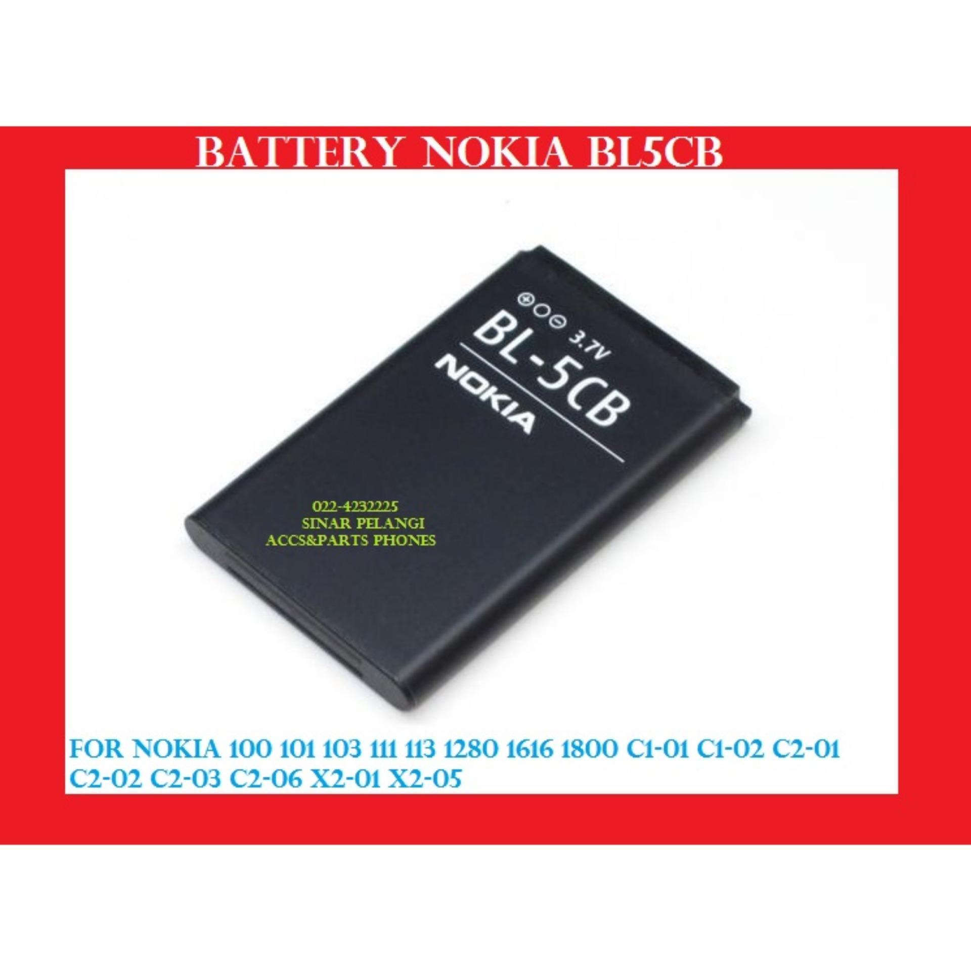 Garansi Ganti Baru 800 Mah Battery Batre Baterai Nokia Bl5cb 100329