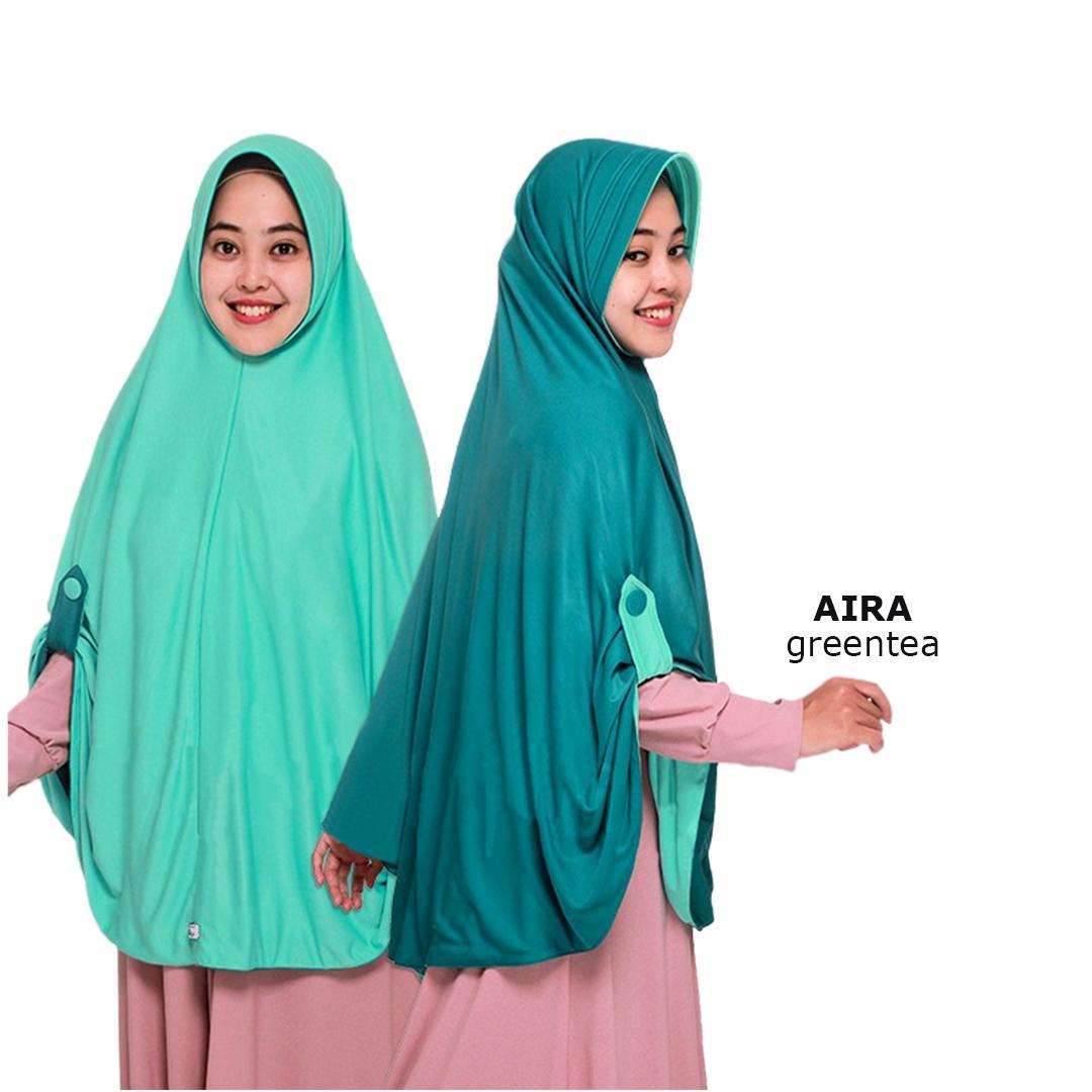 Zannah Hijab Jilbab Bolak Balik Instan 2 in 1 Atau INNER RAJUT  Hijab Kerudung Instant Dua Warna Instan Khimar Langsung Pakai Kancing Kanan Kiri Pet Anti Tembem Atasan Fashion Muslim Terbaru Modern Wanita Muslimah Hijab Pengajian Termurah Paling Laris