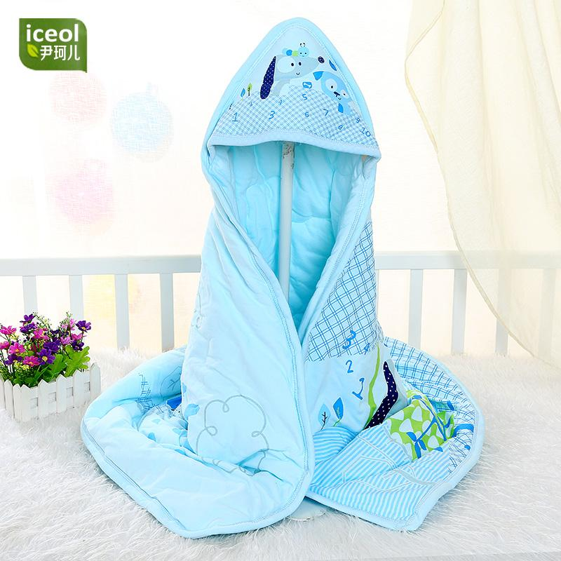 Selimut Gendong Bayi Musim Semi dan Gugur Ukuran Plus Selimut Kecil Katun Bayi Baru Lahir