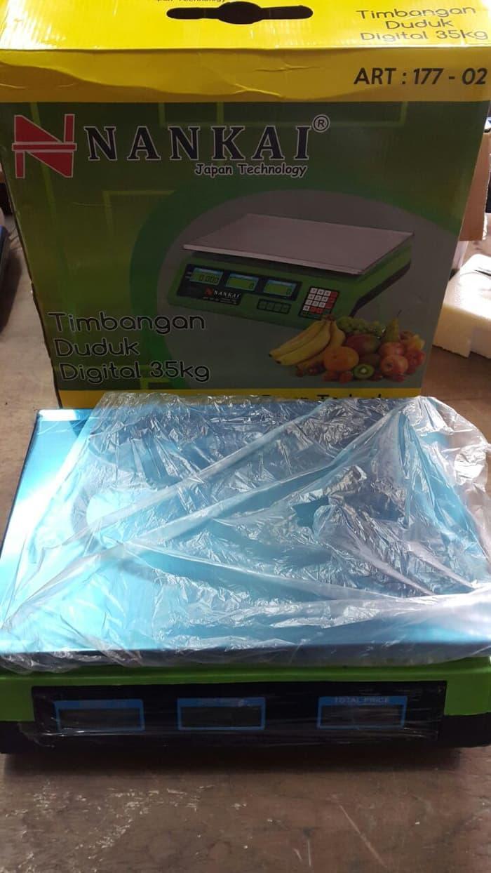 Harga Timbangan Gantung Digital Portable Koper Laundry Daging Sayur Promo Duduk 35 Kg Nankai Buah