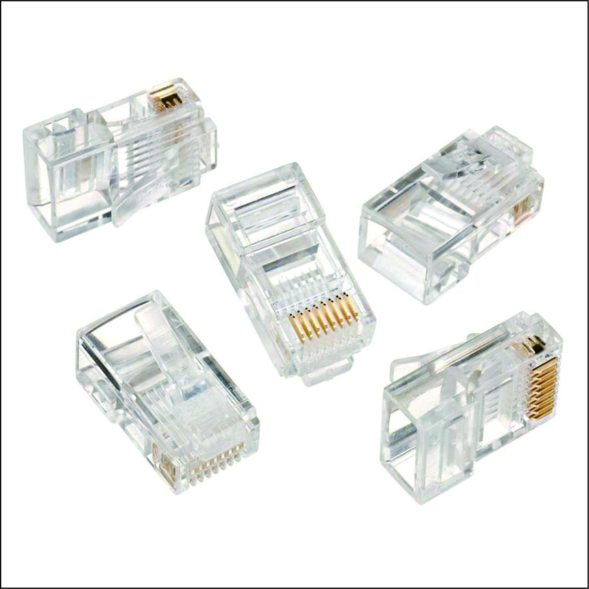 Jual Kabel Ethernet Terbaik Lan 50m Cat 5e Utp 50 Meter Pabrikan Weitech Konektor Rj45 Seri Pack