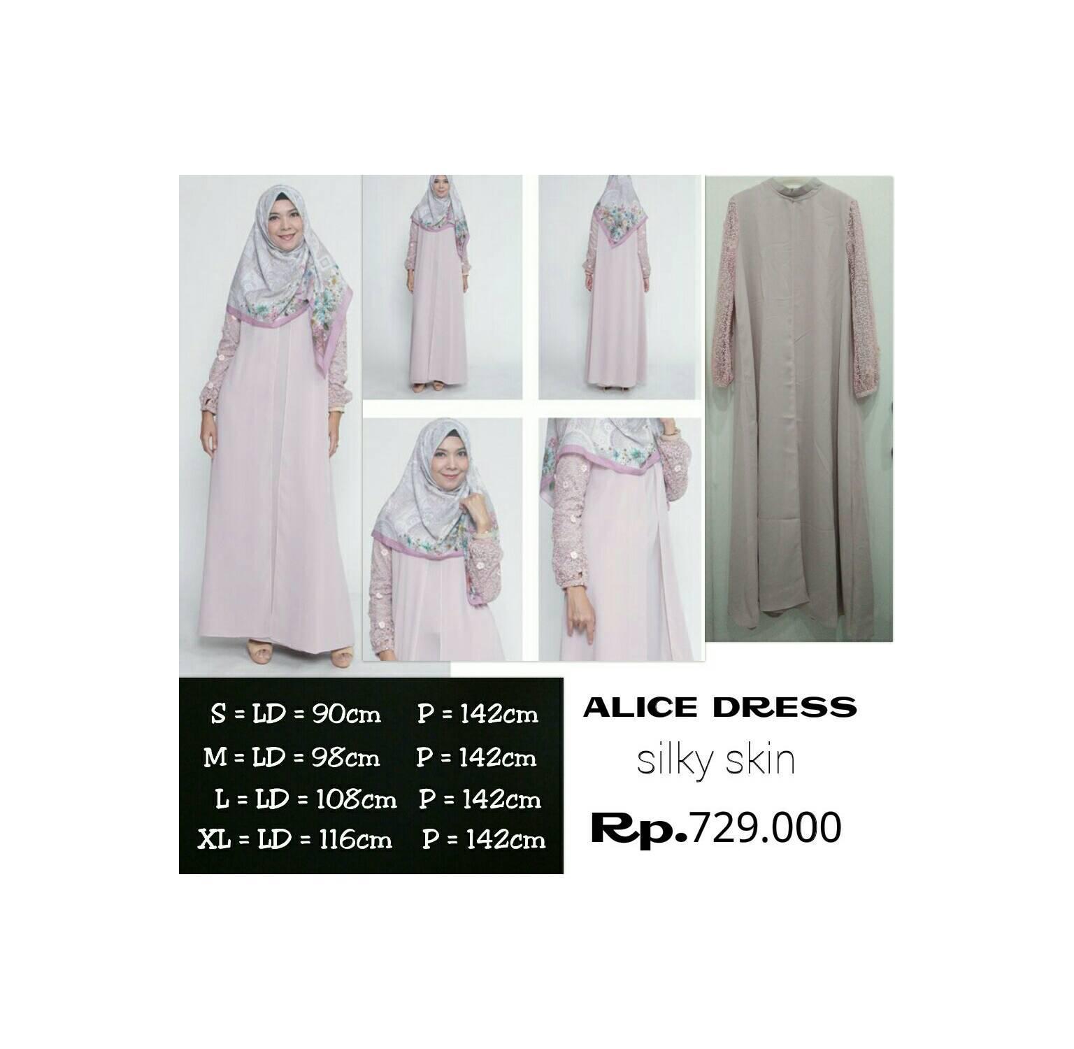 Dress Alice Zoya Rp 729.000 Discount Jadi Rp 656.100