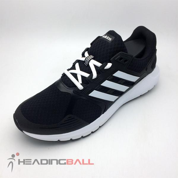 Sepatu Running Lari Adidas Original Duramo 8 M Black White BA8078 BNIB